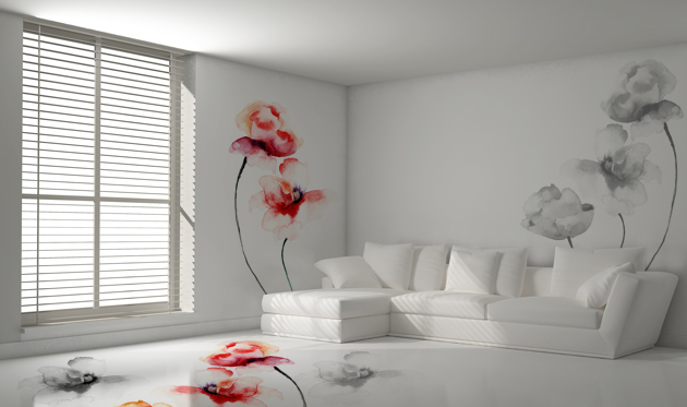 5 motivi per scegliere un pavimento in resina cores srl for Piastrelle con decori