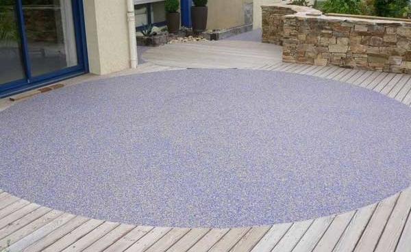 Resine per il giardino cores srl - Pavimentazione giardino senza cemento ...